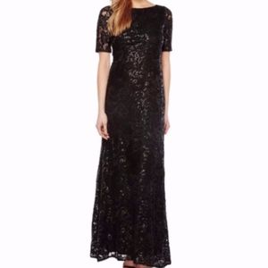 🎉HP🎉 NEW Adrianna Papell Stretch Tulle Gown